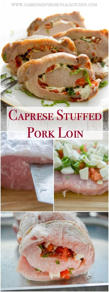 how to cut and stuff pork loin