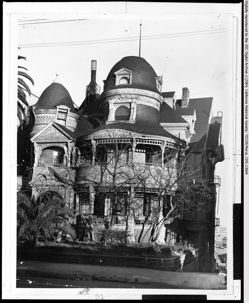 Los Angeles California Homes: The Lost Victorian Mansions Of Downtown LA
