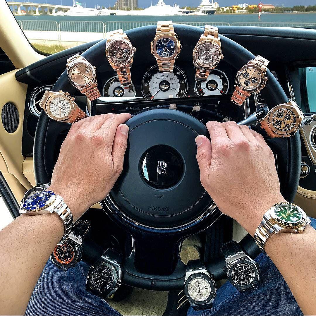 How do you like my new steering lock? | Luxury watches for men, Luxury watches, Watches for men