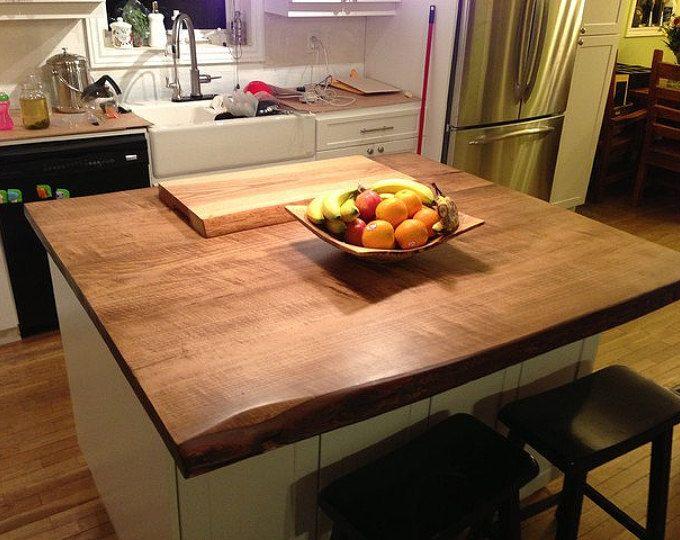 Live Edge Countertops Wood Island Tops Reclaimed Wood Vanity Top