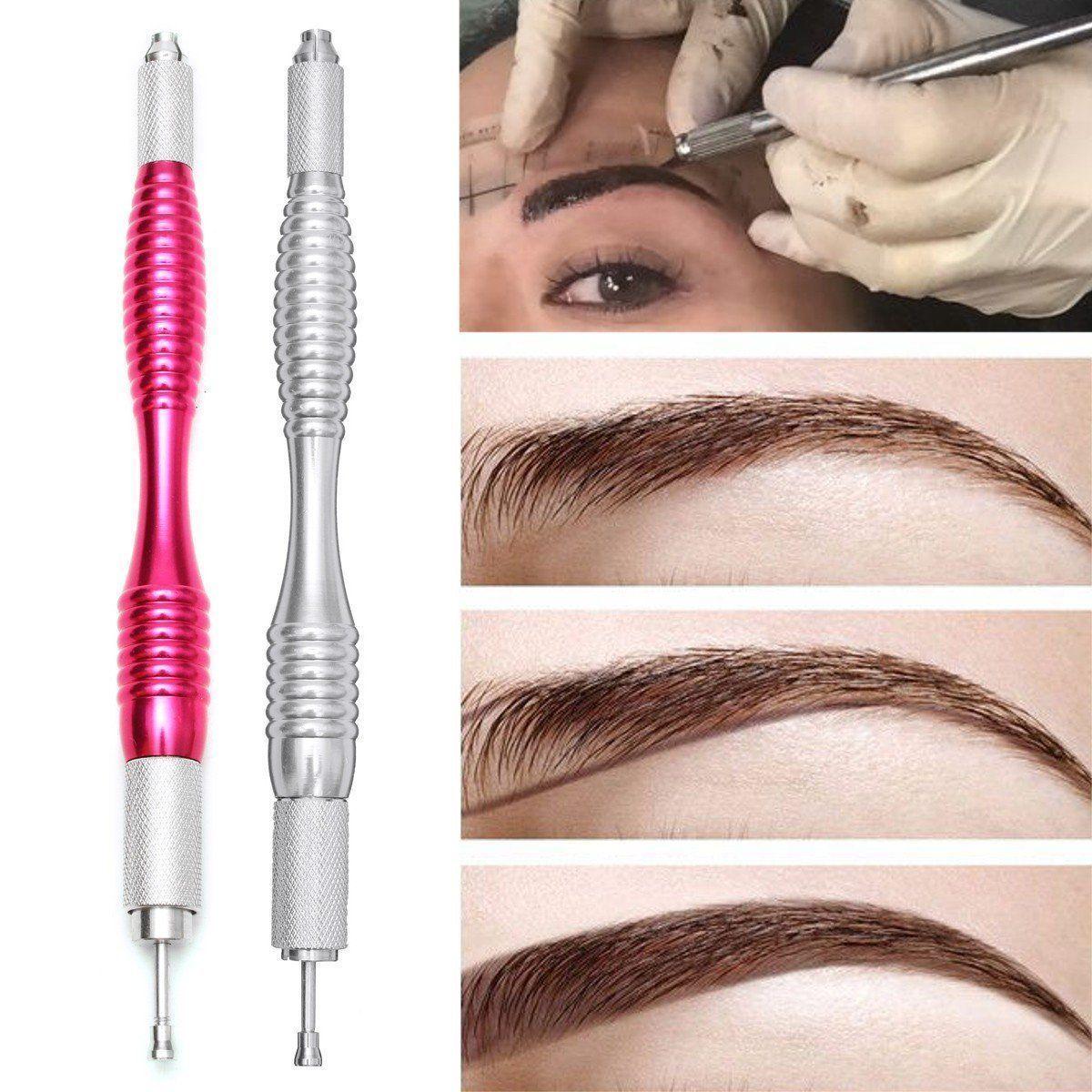 Microblading Semi Permanent Eyebrow Tattoo Pen Makeup Tool