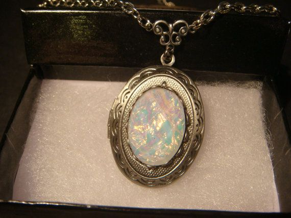 gold locket opal lockets english karat vintage and pin