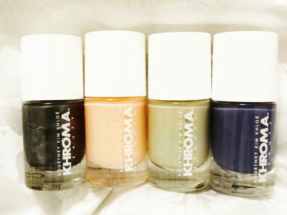 Rare Khroma Nail Polish Kim Kourtney Khloe Kardashian Beauty Line ...