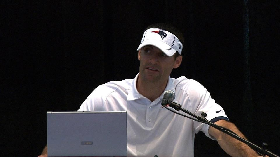 Patriots Director of Player Personnel Nick Caserio