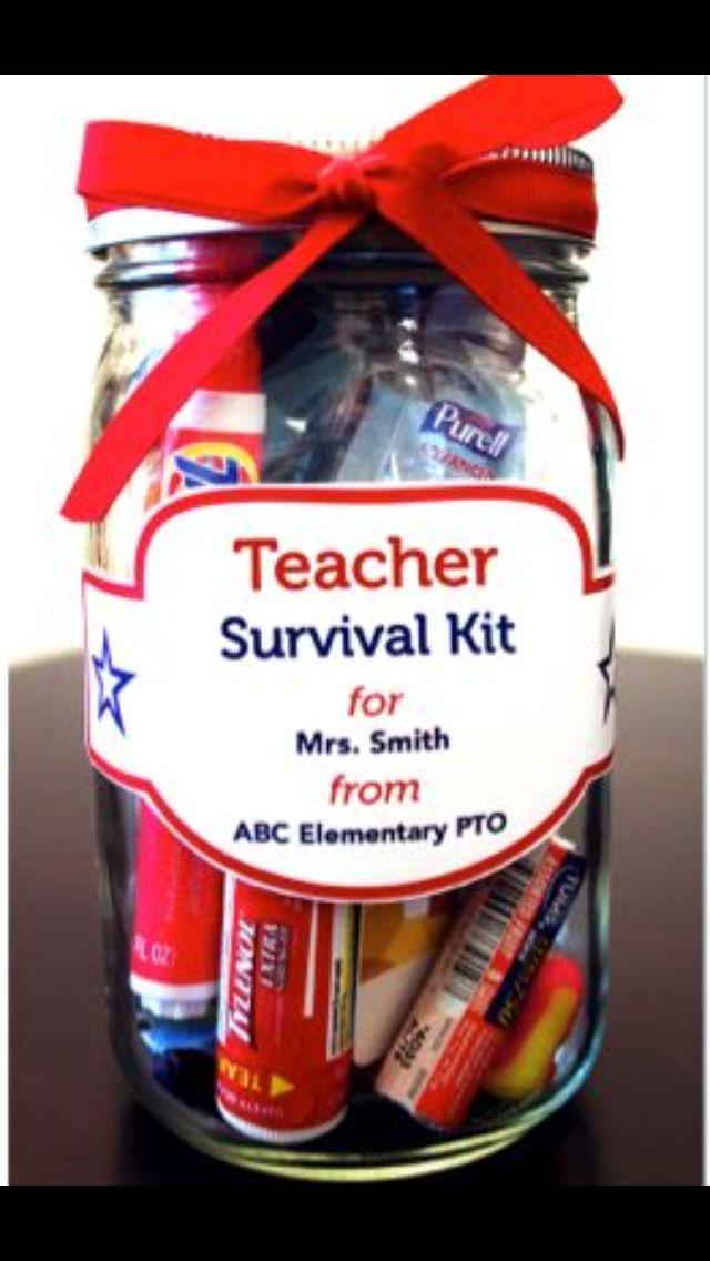 New Teacher gift. | Teacher Appreciation | Pinterest