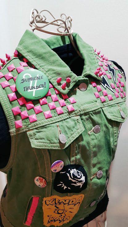 Sailor Jupiter Punk Studded Vest size Large by OutcastThreads