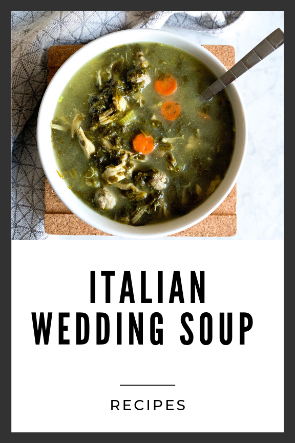 ITALIAN WEDDING SOUP Italian wedding soup, Wedding soup