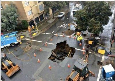 Fake Craigslist Post Advertises SF Sinkhole for Rent   San ...