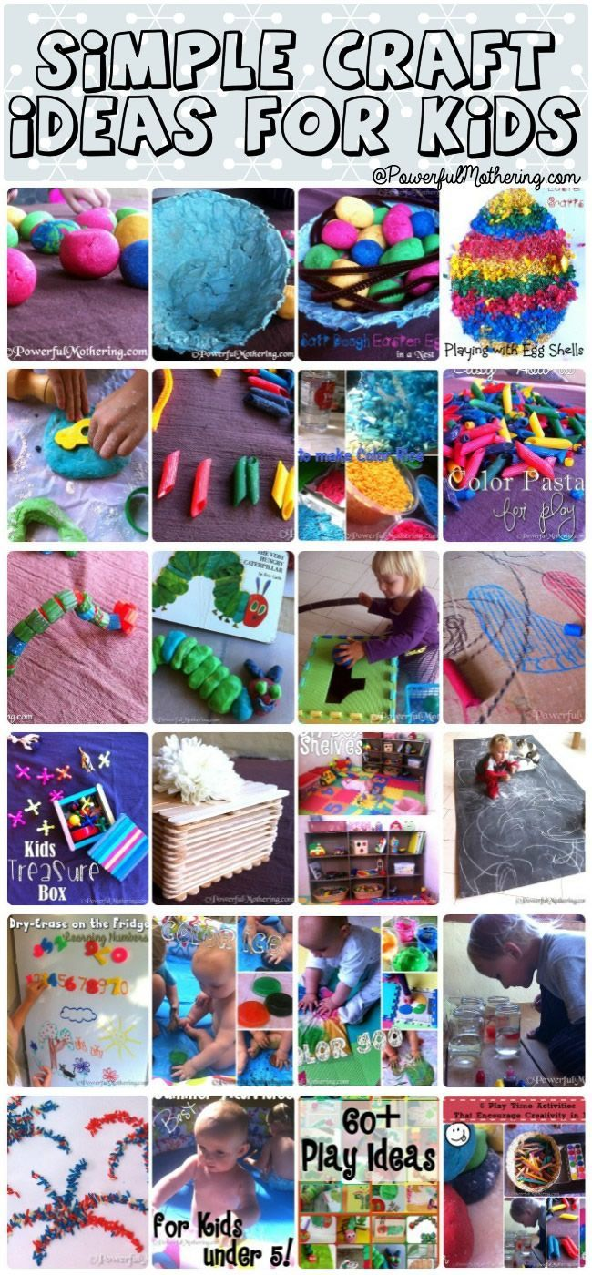 simple craft ideas for kids kids learning activities and crafts