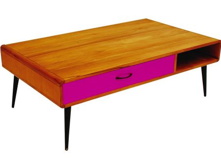 retro coffee table | 1950's style coffee table | vintage coffee