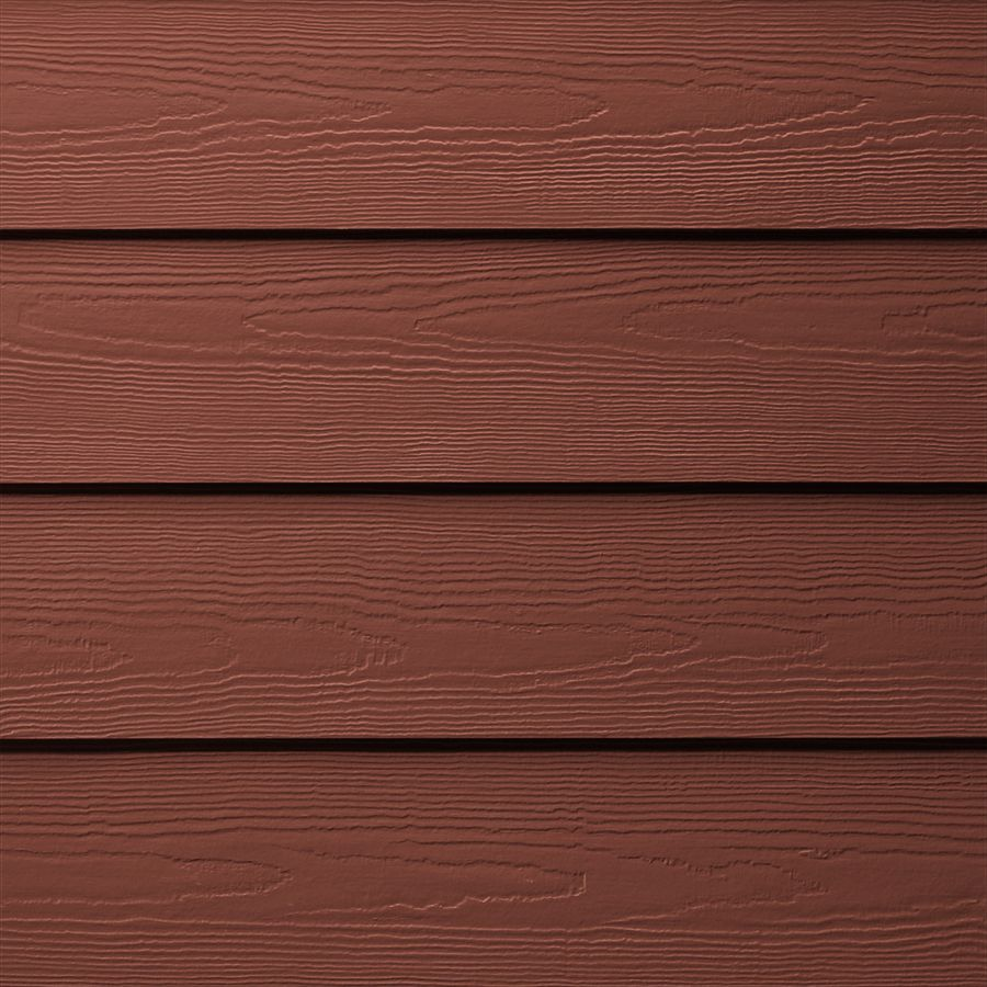 James Hardie 8 25 In X 144 In Colorplus Hz5 Hardieplank Traditional Red Cedarmill Fiber Cement Lap Siding Lowes Com In 2020 Hardie Plank Fiber Cement Lap Siding James Hardie Siding Colors