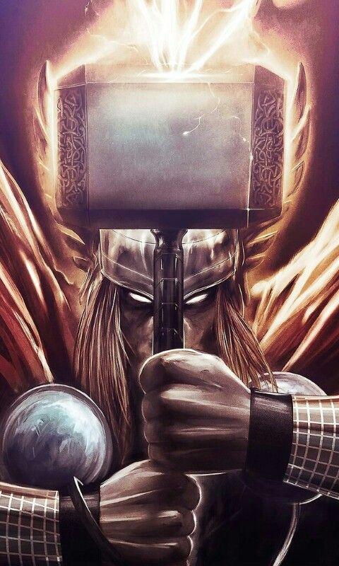 #Thor #FanArt #Marvel