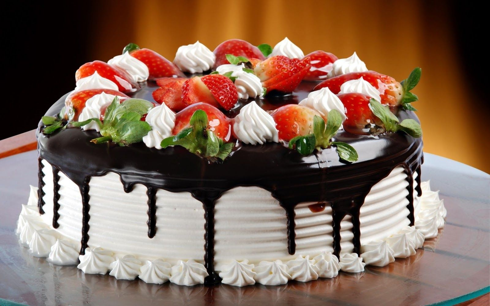 Modern Art Desserts Desktop Wallpapers Cake Wallpapers Birthday Cake Chocolate Happy Birthday Cake Pictures Strawberry Cakes