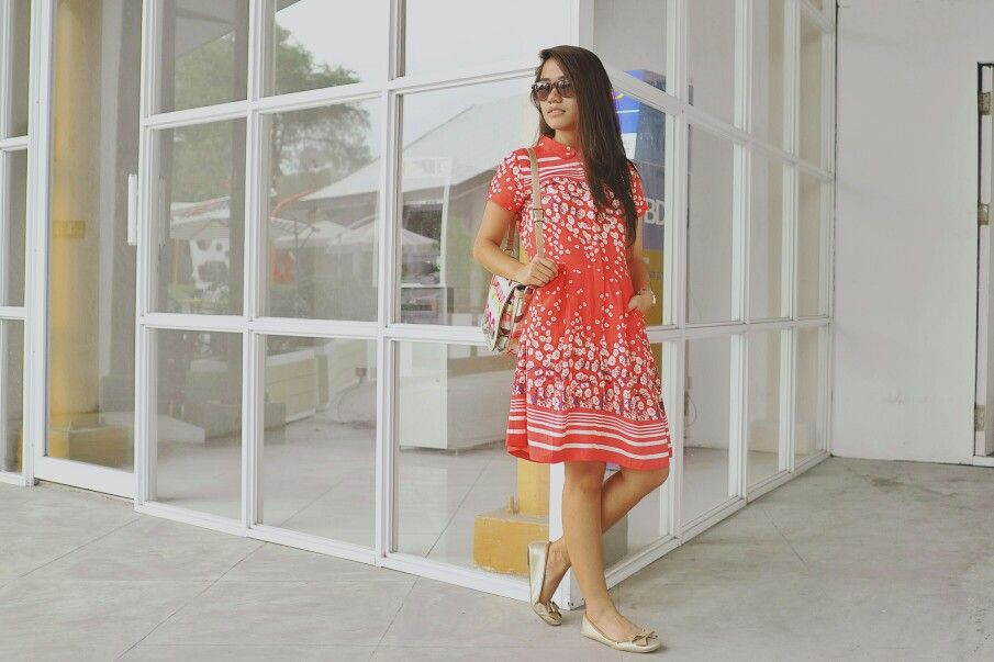 Paperdoll dress and Spruce PINKed shoes #StyleStew #ootd