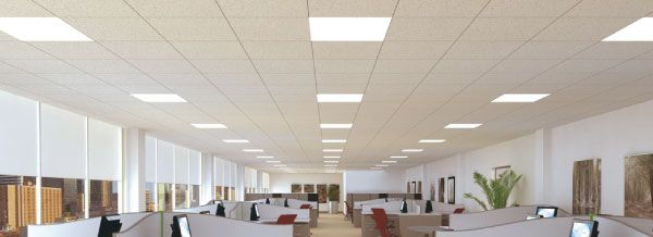 t8 led general lighting interlectric office space | lighitng