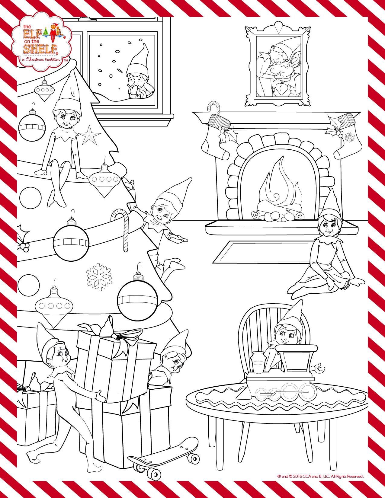 Pin By Mikirra On The Elf Christmas Coloring Pages Elf Activities Christmas Elf