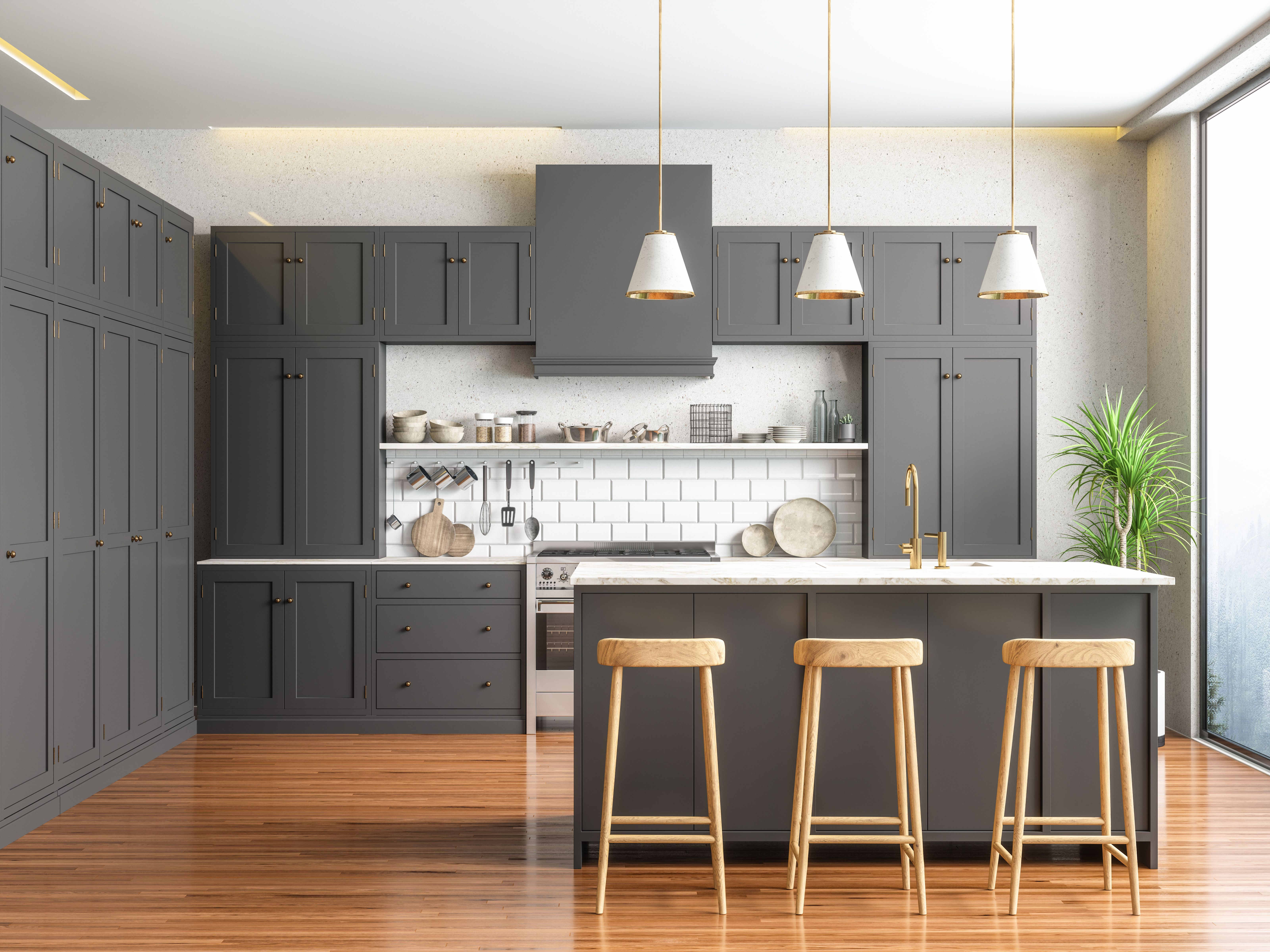 Can You Pull Laminate Off Cabinets Paint The Pressed Wood Hunker In 2020 Clean Kitchen Cabinets Laminate Furniture Kitchen Cabinets India