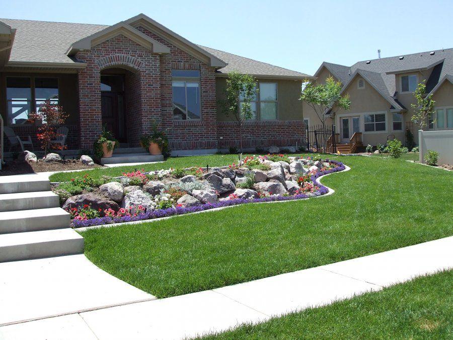 Beautiful Landscaped Yard Landscaping Yardideas Backyards Plants Shrubs Pavers Duvalllandscaping Com Landscape Backyard Landscaping Work