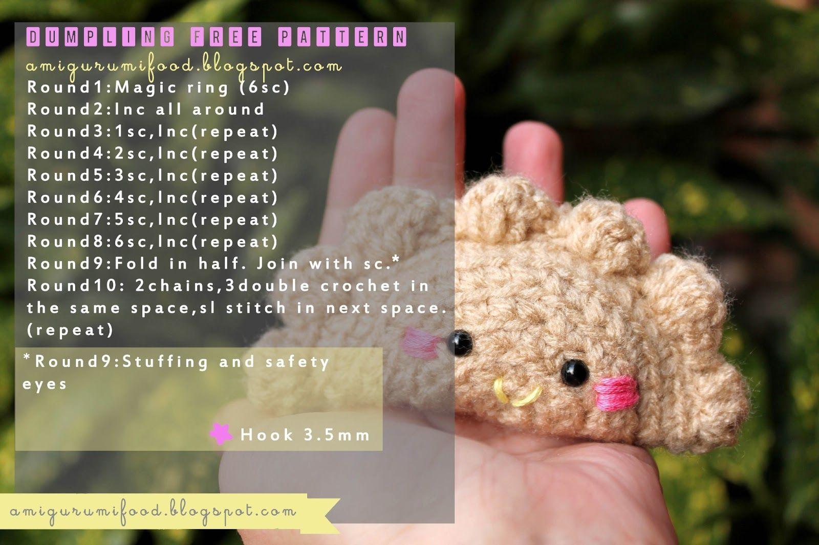 Amigurumi Food: Free pattern | Crochet | Pinterest | Häkelanleitung ...