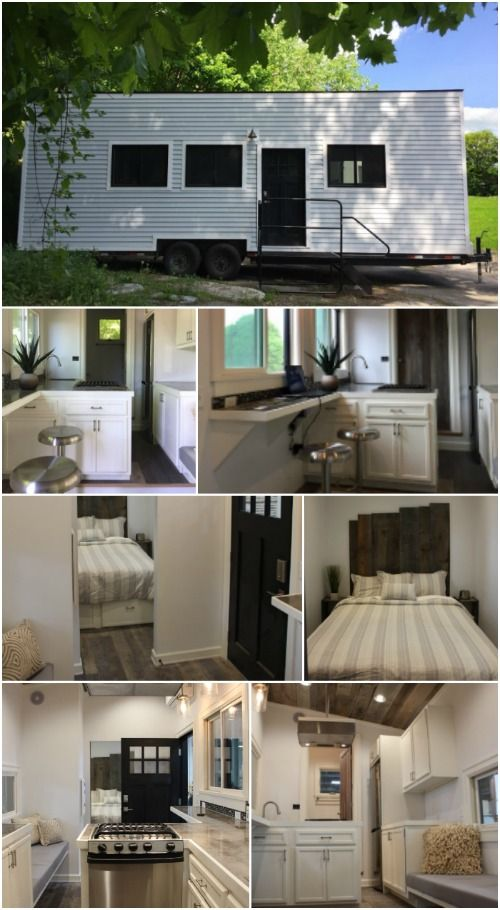 Tiny Home Designs: Stony Ledge Tiny House Is 218 Square Feet Of Rustic Style