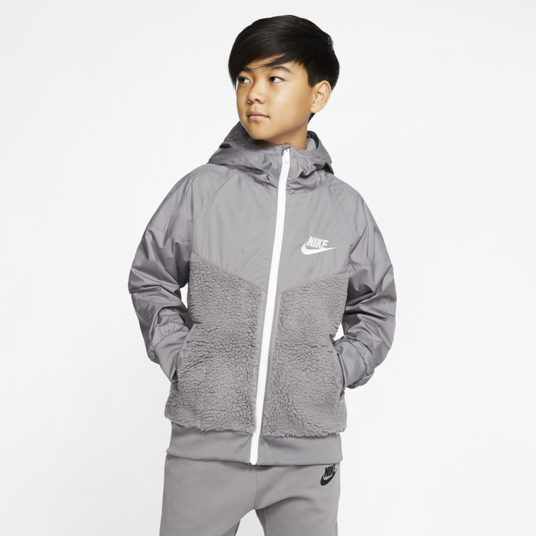 Nike Sportswear Windrunner Big Kids Jacket   Junior Girls