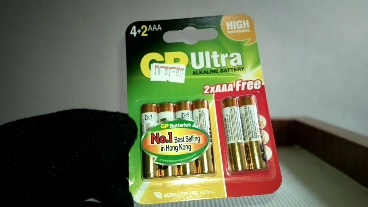 Bought This Gp Ultra Aaa Batteries X6 Pieces For 1 80 From Abc Bargain Centre Good Deal Aaa Batteries Batteries Aaa