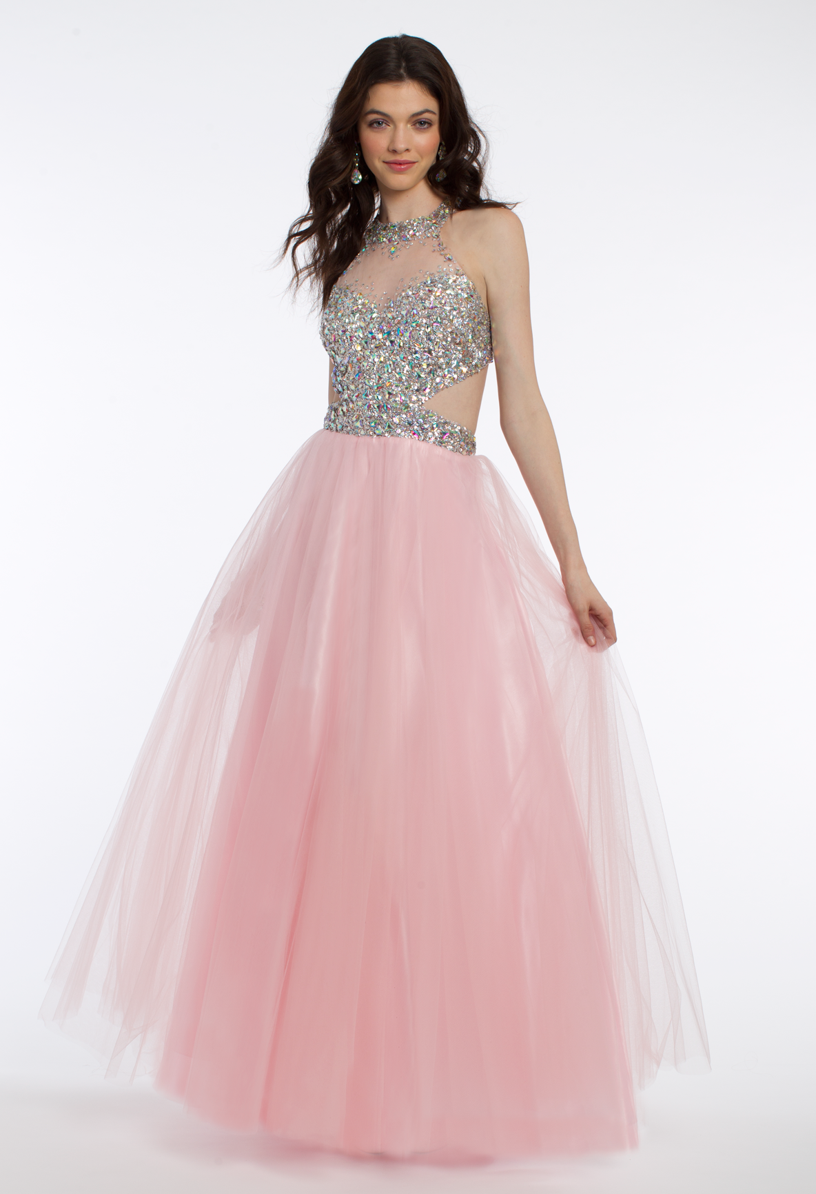 AB Cluster Stone Ballgown Dress | Tulle balls, Dress designs and ...