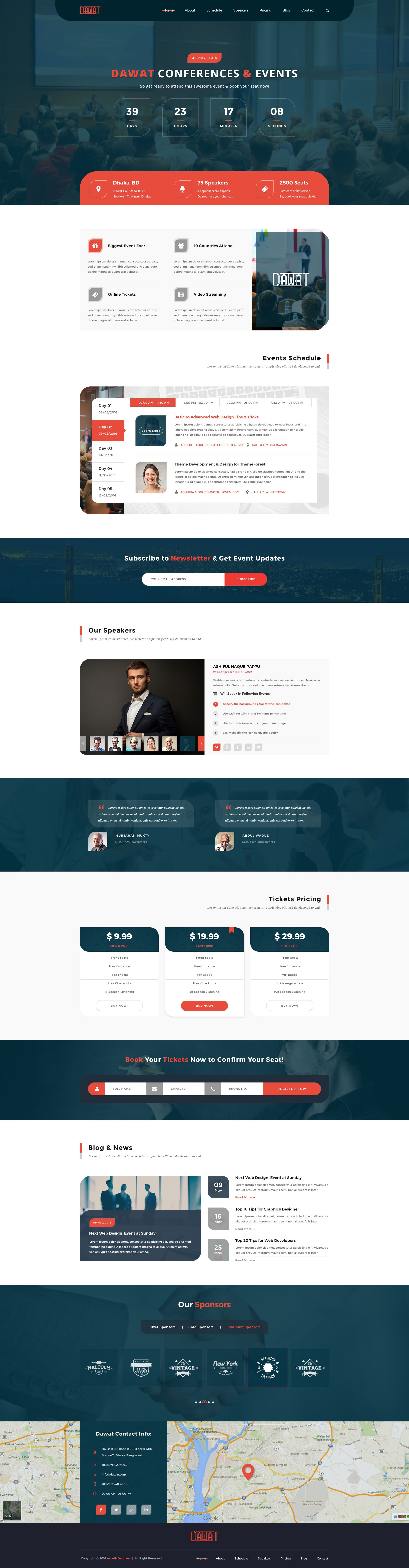 Dawat  Event  Conference Psd Template  Psd Templates Template