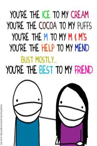 Best Friend :) Best Friends. BestiesFunny QuotesBff QuotesFriendship ...
