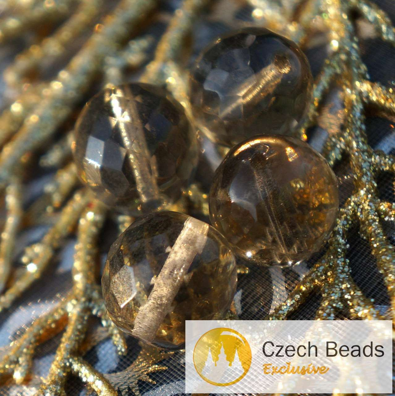 12pcs Czech Glass Maple Leaf Beads Carved 13mm x 11mm