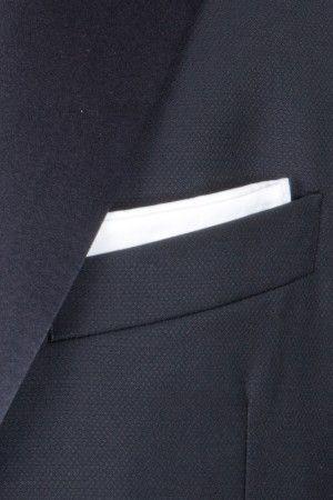 Pochette bianca - eleganza pura
