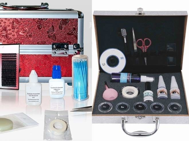 Professional Eyelash Extension Kits What Is Included Lash