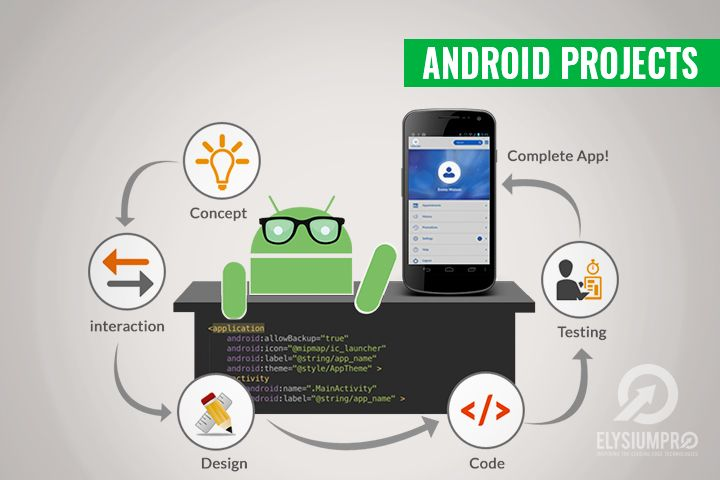 Android projects build a android app to boost your