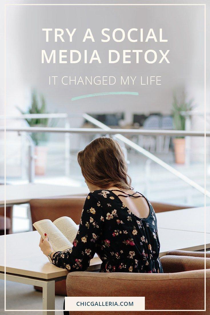 A Social Media Detox It Changed My Life Chic Galleria A Social Media Detox It Changed My Life Chic Galleria Cynara Bueno cynaravaleria M I N D F nbsp hellip detox challen...