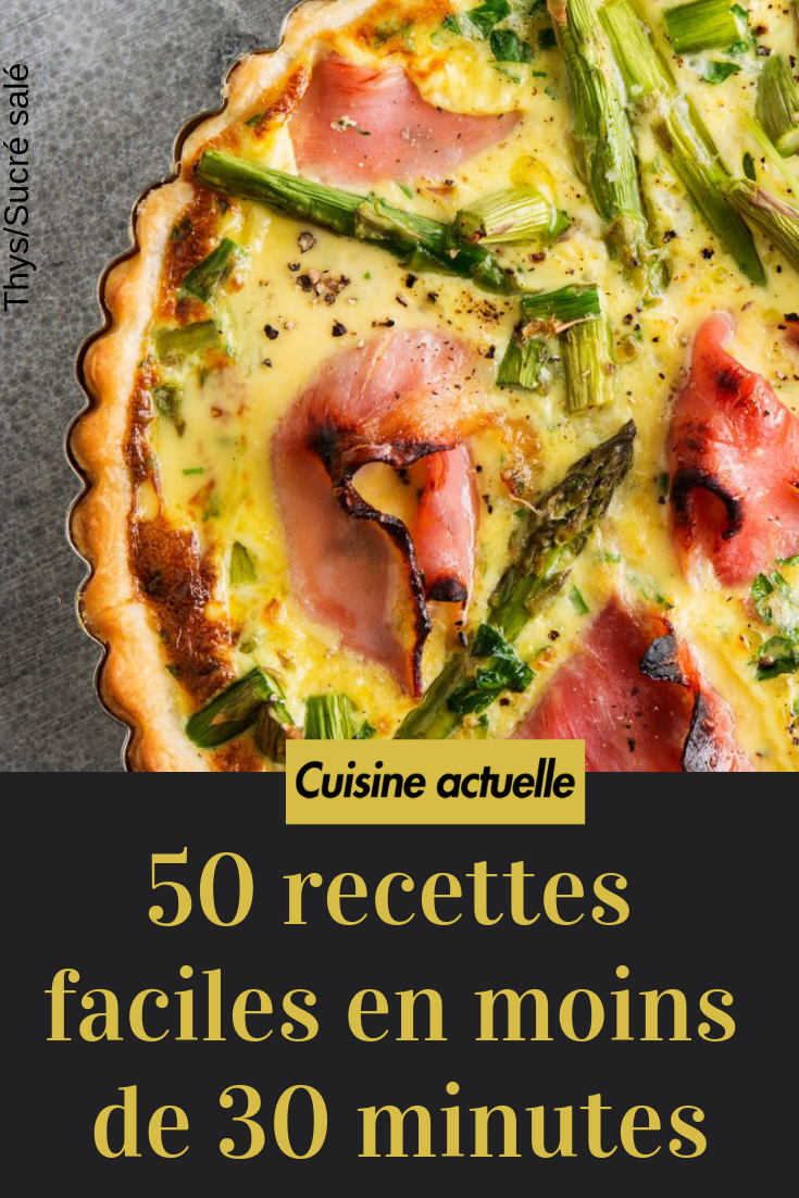 12 recettes faciles en moins de 12 minutes   Recette plat rapide ...
