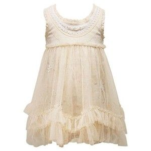 Baby Sara Spring 2012 Stunning Ivory Lace Tulle Dress 18 months to 6X Now in Stock!