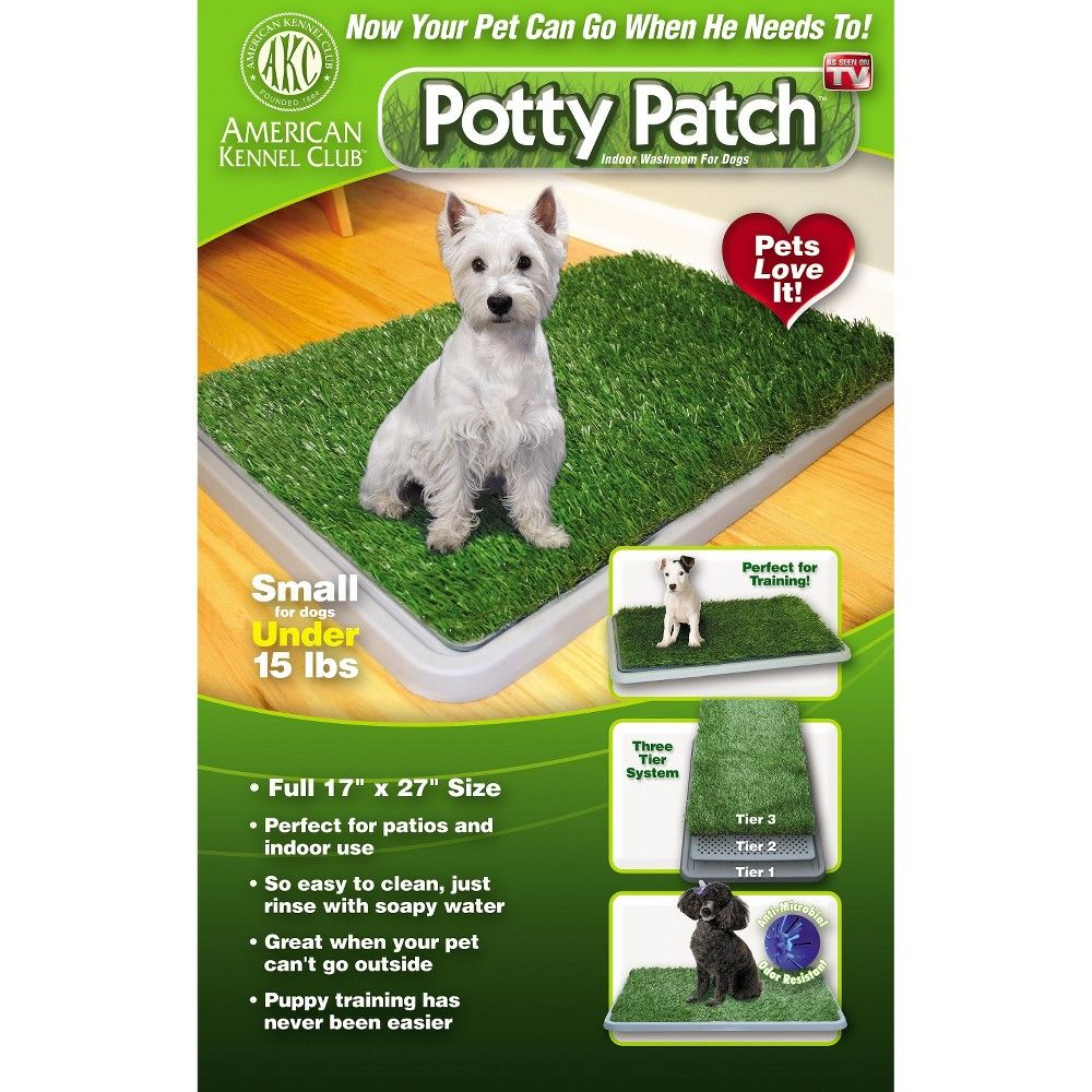 As Seen On Tv Eagle Eye Potty Patch Green 17x27 Indoor Dog