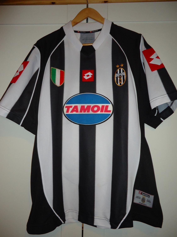 d032a552531 2002 2003 Champions League Final Juventus Kit Football Shirts