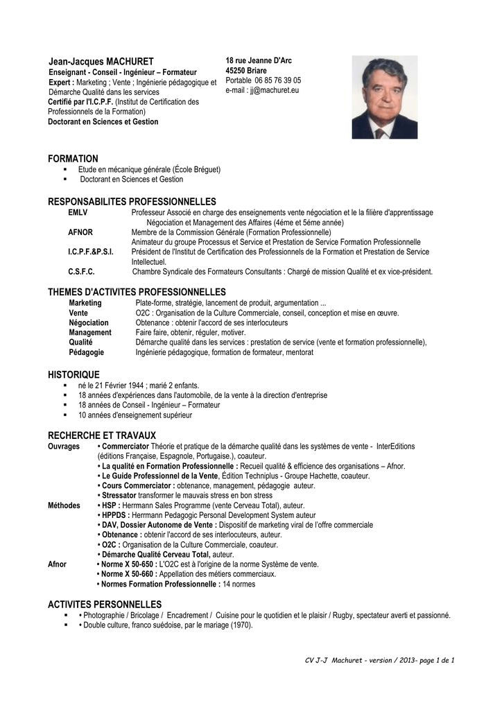 Cv Professeur Mecanique Recherche Google Ingenierie Pedagogique Enseignement Ingenierie