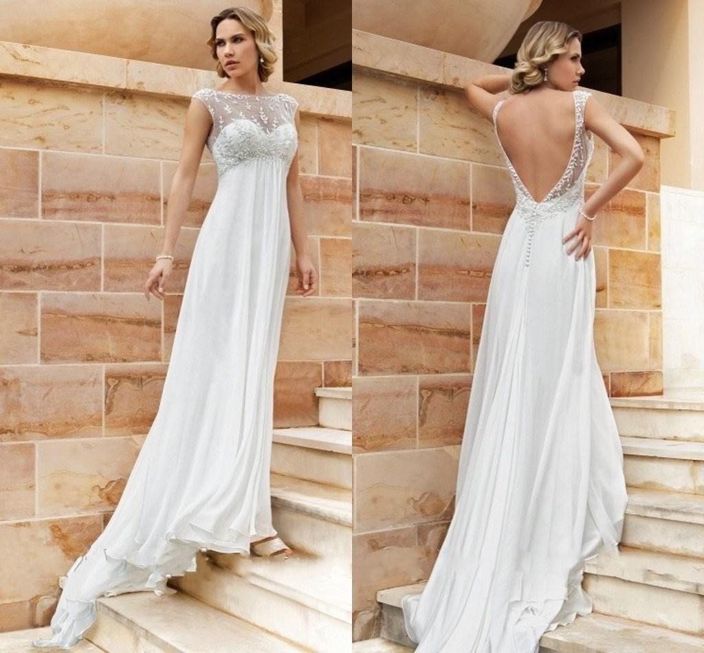green wedding dresses deserves your buy. Like cheap backless empire ...
