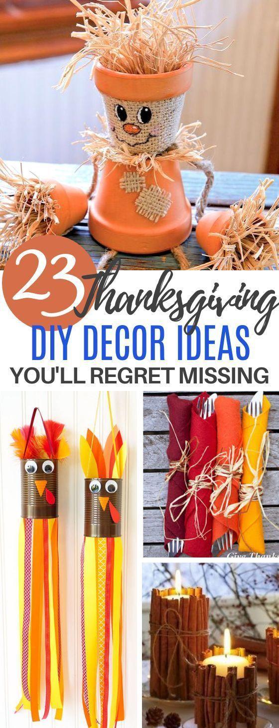 Thanksgiving DIY Decor You can Make on the Cheap