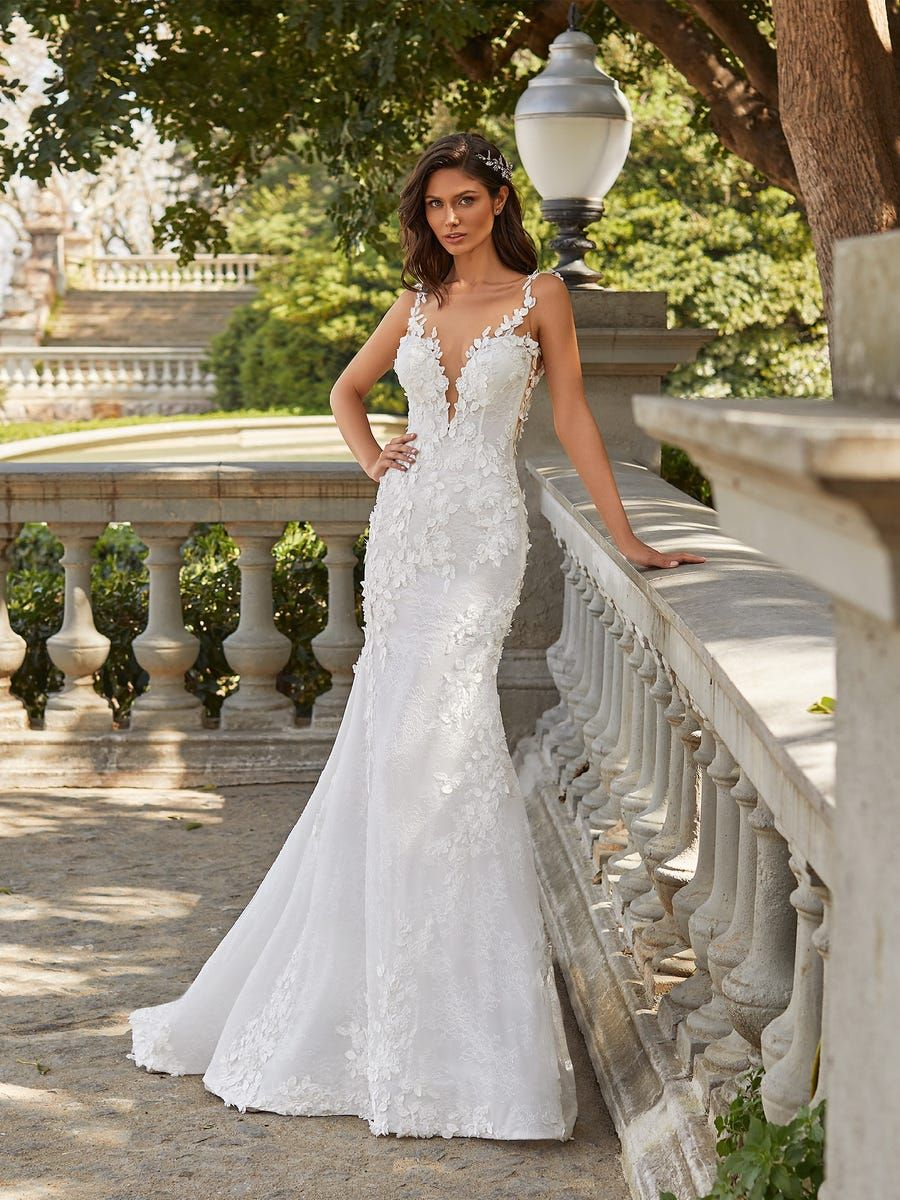 Josephine Wedding Dresses Pronovias Wedding Dress Mermaid Wedding Dress [ 1200 x 900 Pixel ]