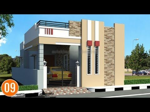 Best indian single floor house elevation images simple for Single floor house designs tamilnadu