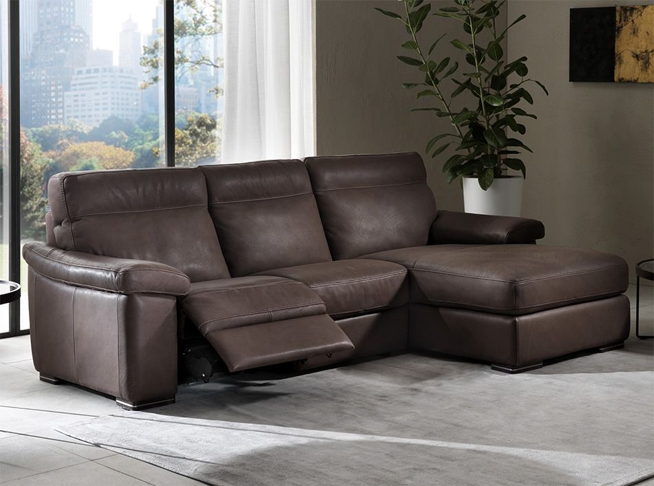 Natuzzi Editions Recliner Sectional Sofa Onore B814 Sofa