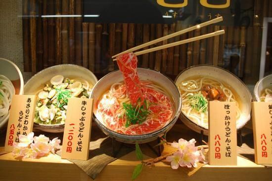 plastic food Japan