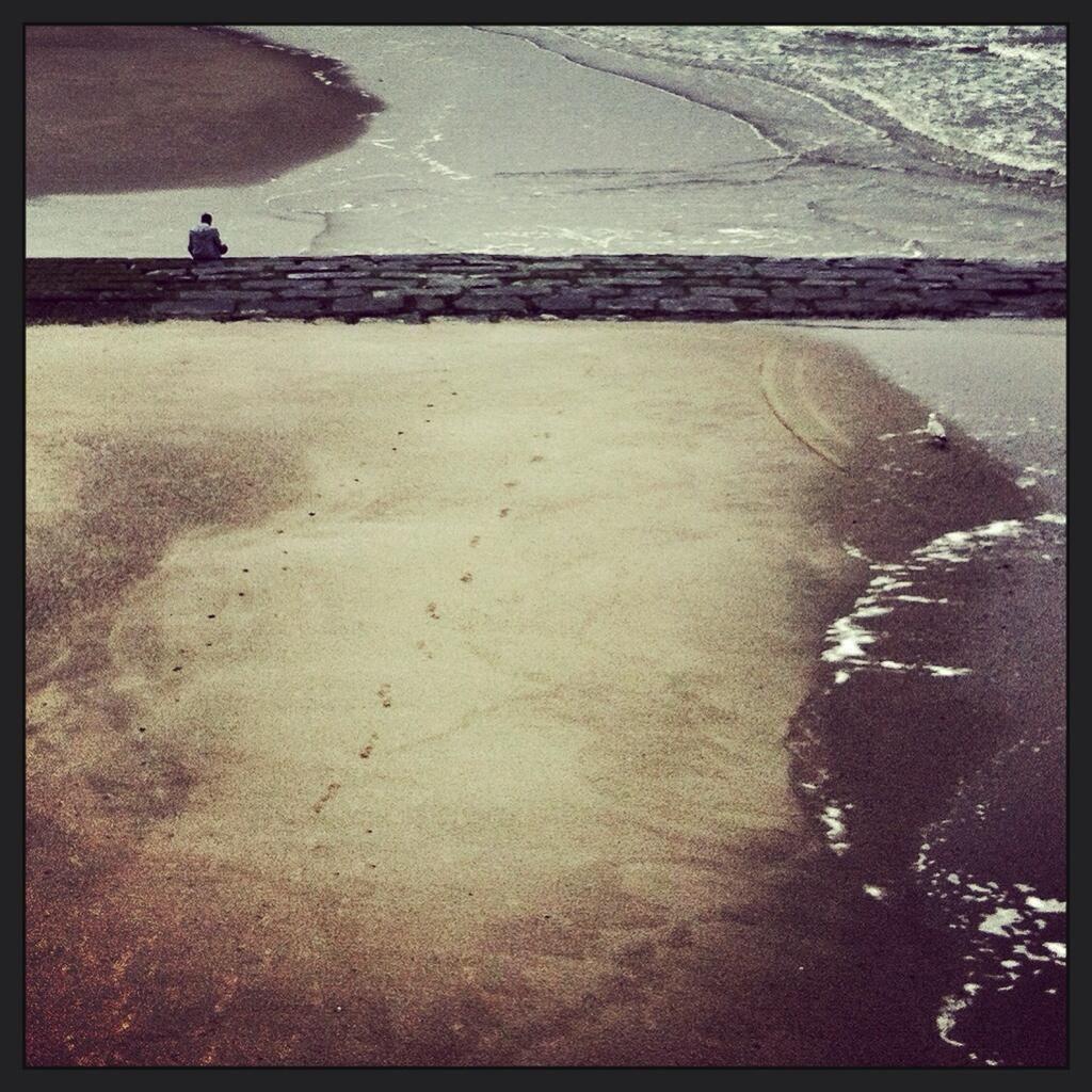 Twitter / olivierdepaep: Rust aan de kust #blankenberge ...