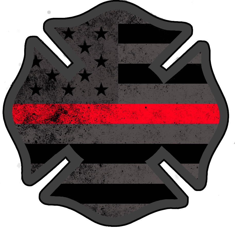 American Subdued Firefighter Support Decal! (With images