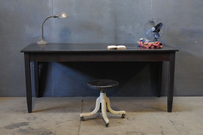 1940s Vintage Science Lab School Table School Tables Furnishings Design Furniture