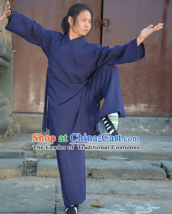 Wudang Uniform Taoist Uniform Kungfu Kung Fu Clothing Clothes Pants Shirt Supplies Wu Gong Outfits