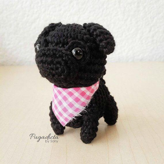 crochet #pug | Amigurumi | Pinterest | Fieltro y Costura